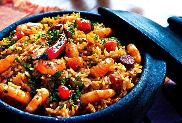 Manger équilibré - du riz cantonnais