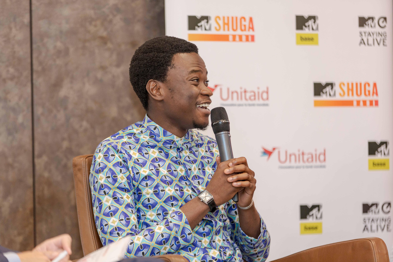 Ange Eric N'guessan, MTV Shuga SA