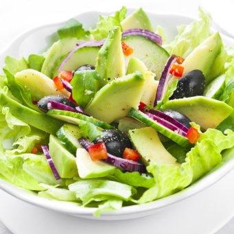 salade fraiche d'avocat