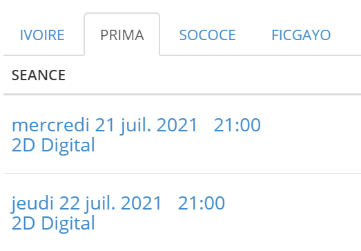 Programme Fast and Furious 9 Salle Prima