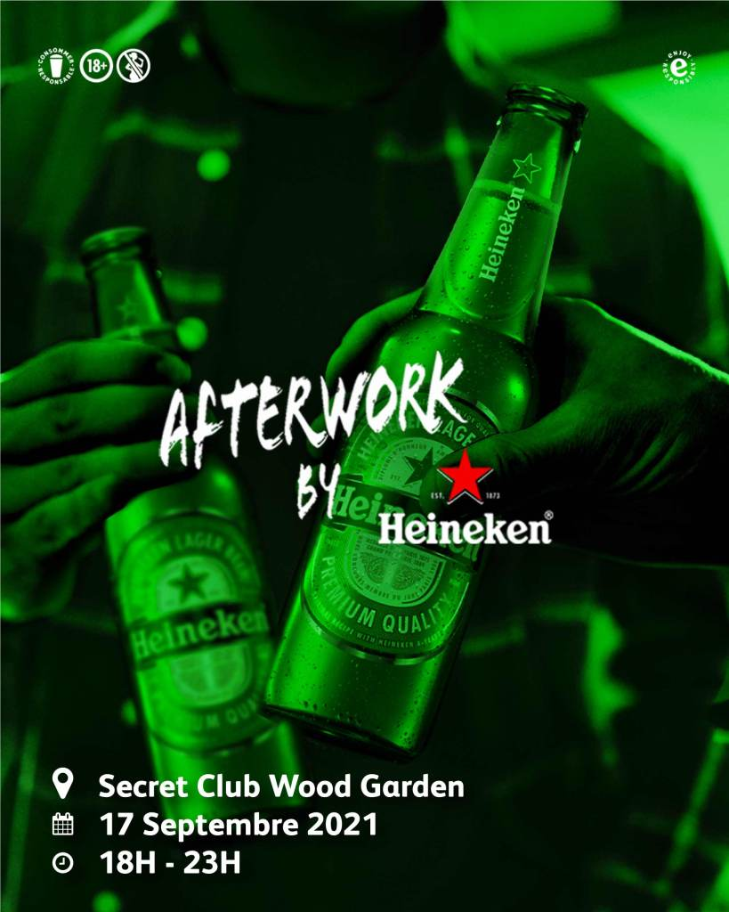 AFTERWORK by Heineken sur TCHEYA