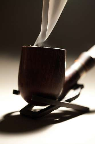 And you thought smoking tea was a joke!