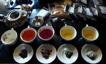 """Black tea, please, because I need more caffeine"""
