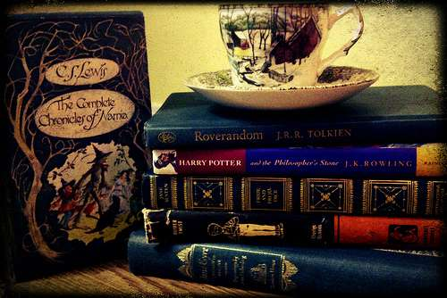 Blast from the Past: Reading With Tea
