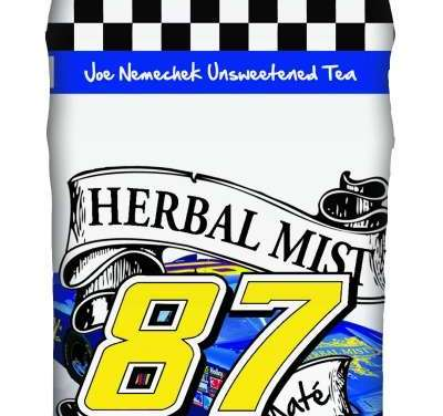 NASCAR legend Joe Nemechek embraces tea both personally and professionally