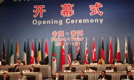 2013 International Tea Convention in Pu'er, Yunnan