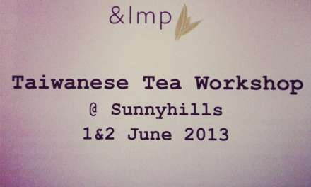 A Taiwanese tea workshop in Singapore