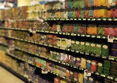 A walk down the tea aisle