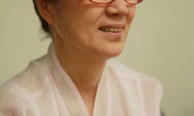 My Korean Chado teacher