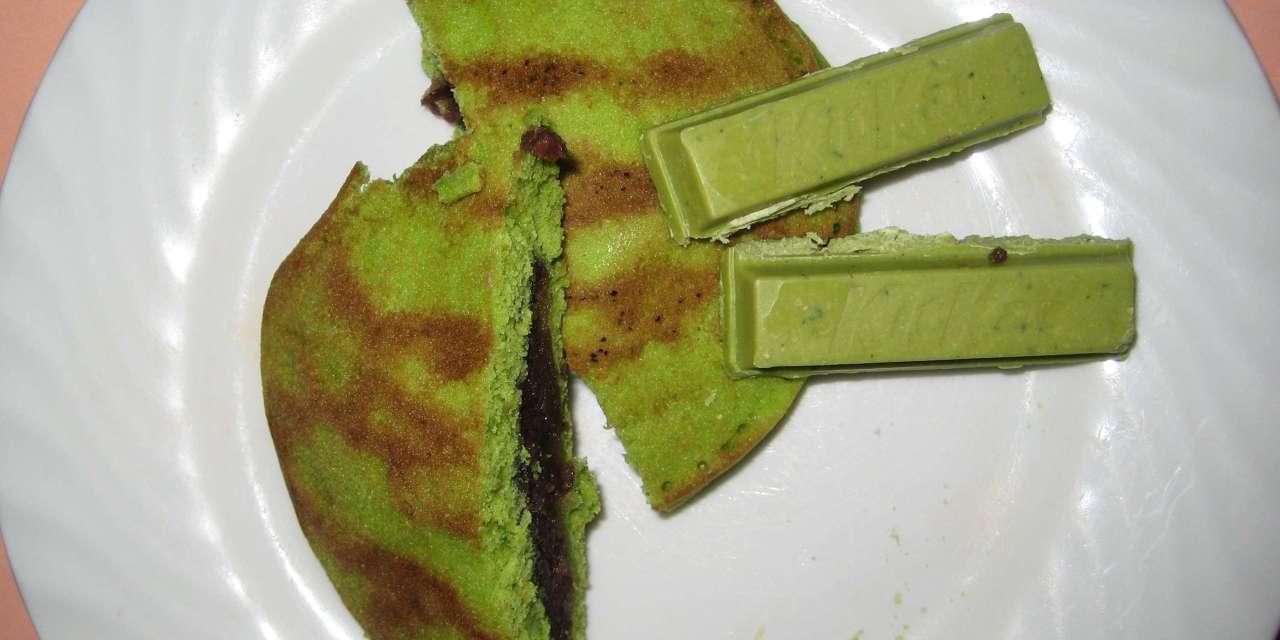 UNBAG the green tea Kit Kats!  Uji Matcha celebrated