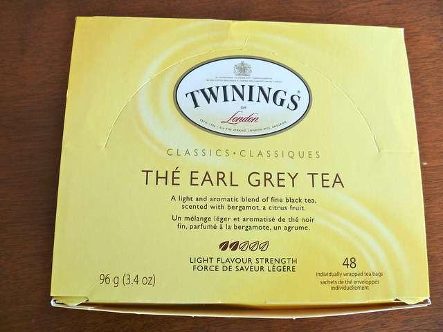 Them, tea, and me