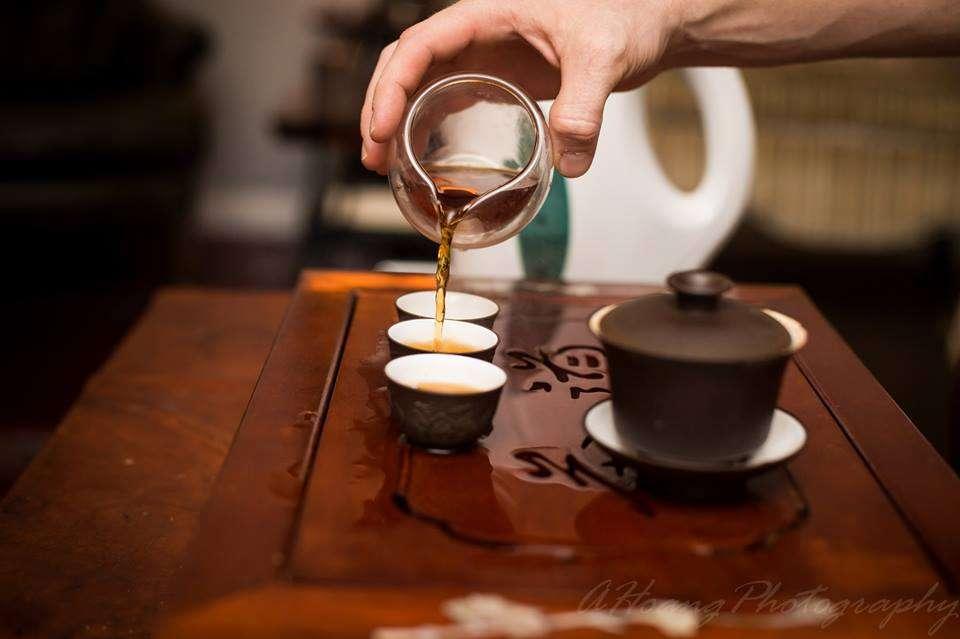 Building a teahouse