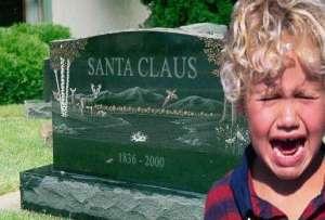 santa's grave