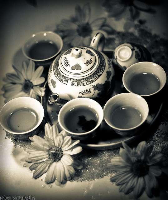 Tea is a rising star