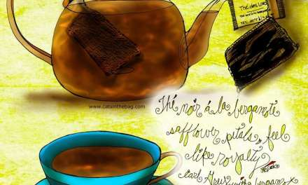 """Illustrated Review:  """"Thé des Lords"""" Earl Grey"""