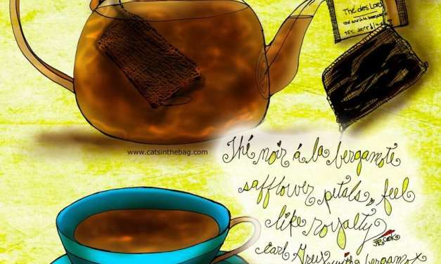 "Illustrated Review:  ""Thé des Lords"" Earl Grey"
