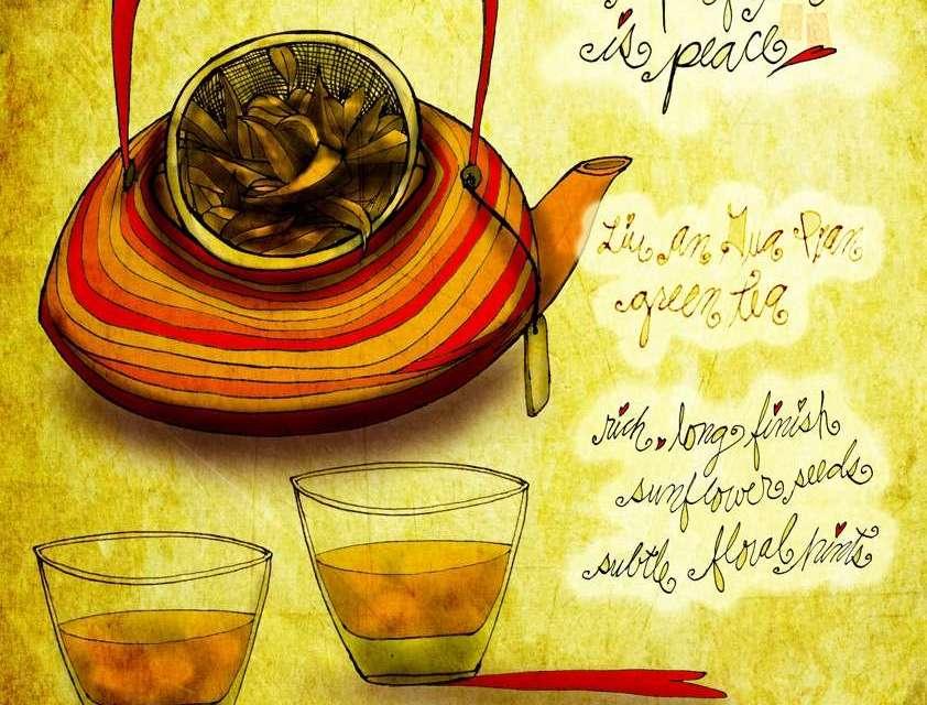 Illustrated Review: JasETea Liu An Gua Pian