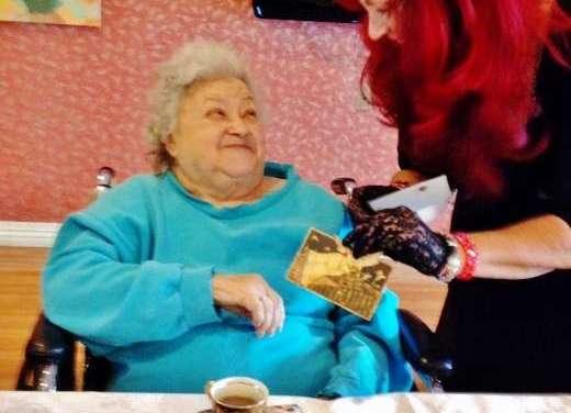 Tea with the Elderly