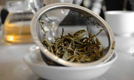 Savoring lotus tea in Vietnam