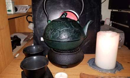 The Longest Night, The Winter Solstice, and Tea