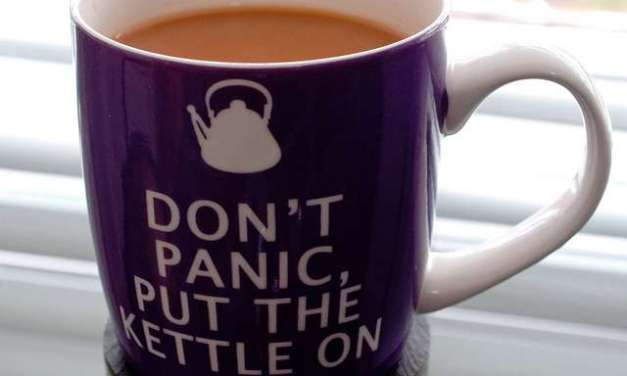 Post-Holiday Tea