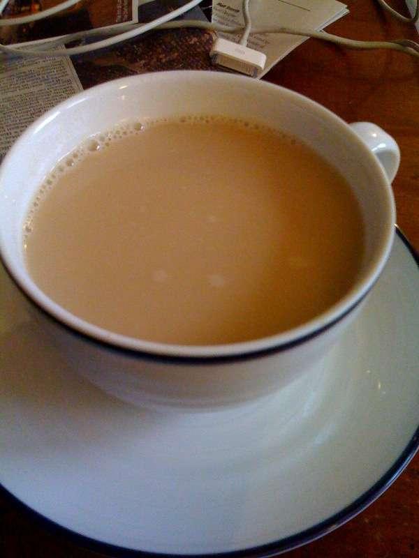 """That illusive """"perfect"""" chai latte - Photo of a chai latte"""