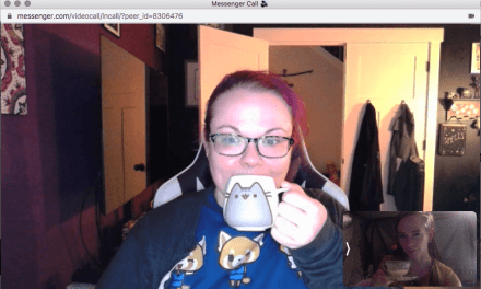 Online Tea With a Friend