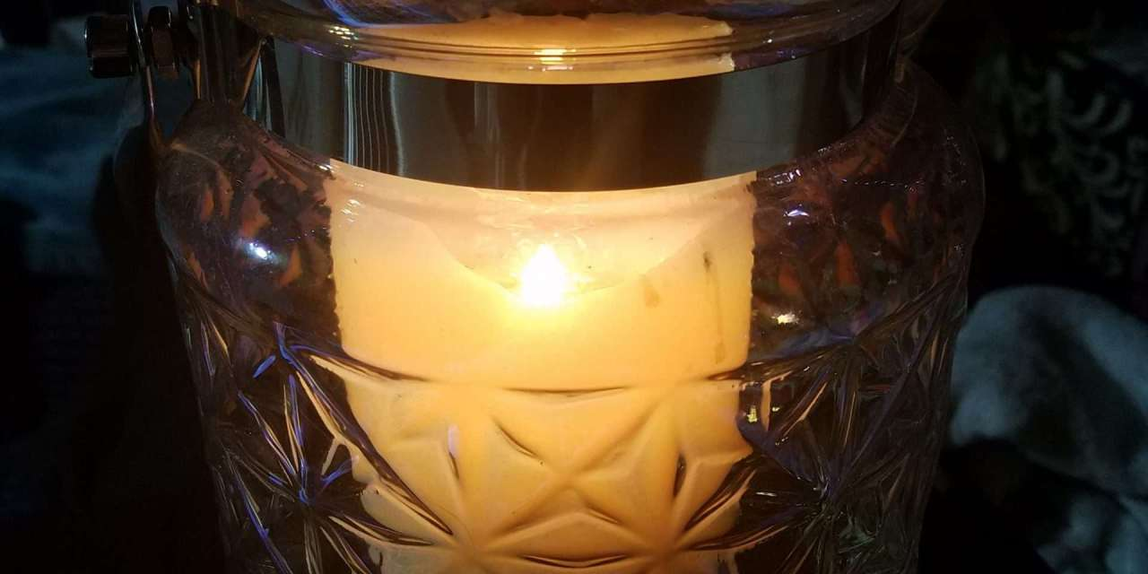 Solstice Night, Tea, and Light
