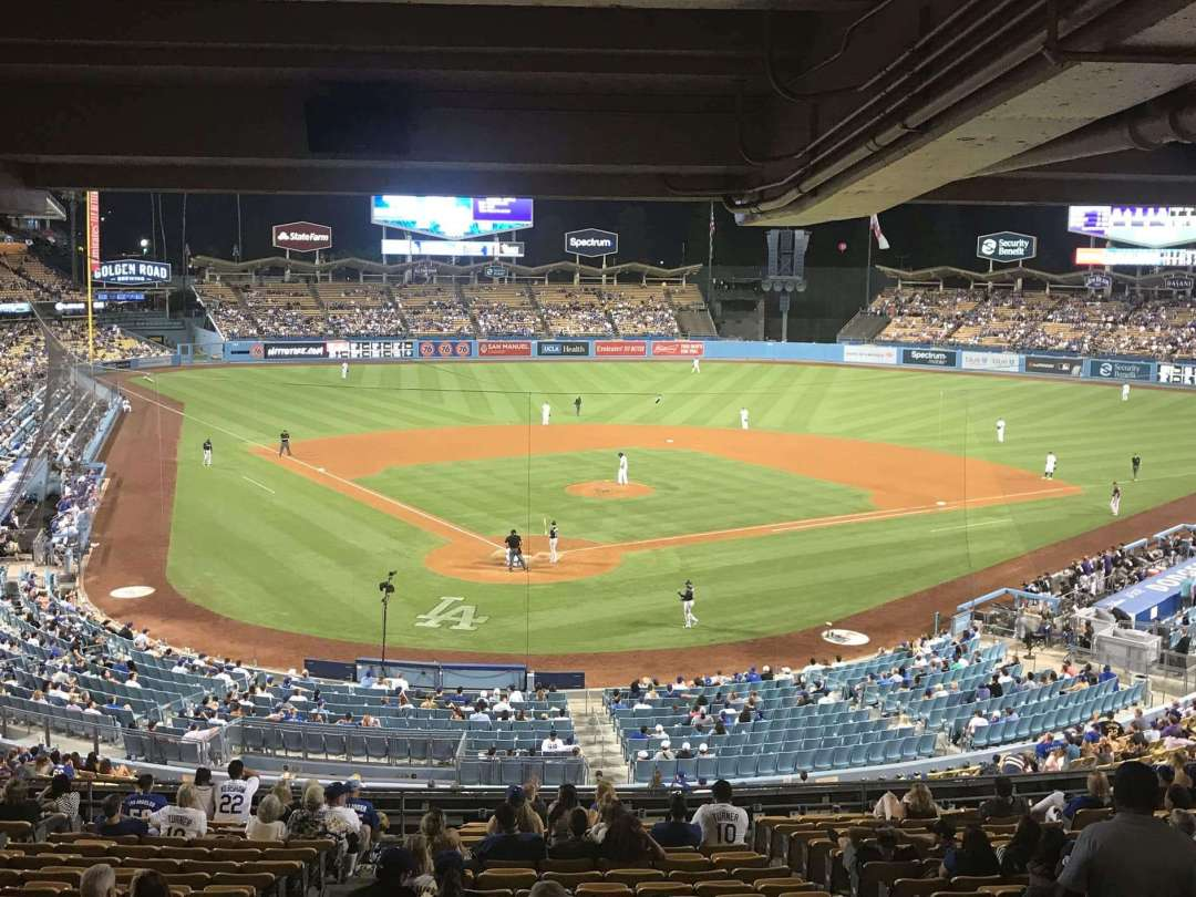 Connecting Baseball With Tea - Photo of a baseball game from the stands