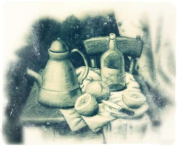 Boterismo Still Life - Edited version of Still Life With the Teapot
