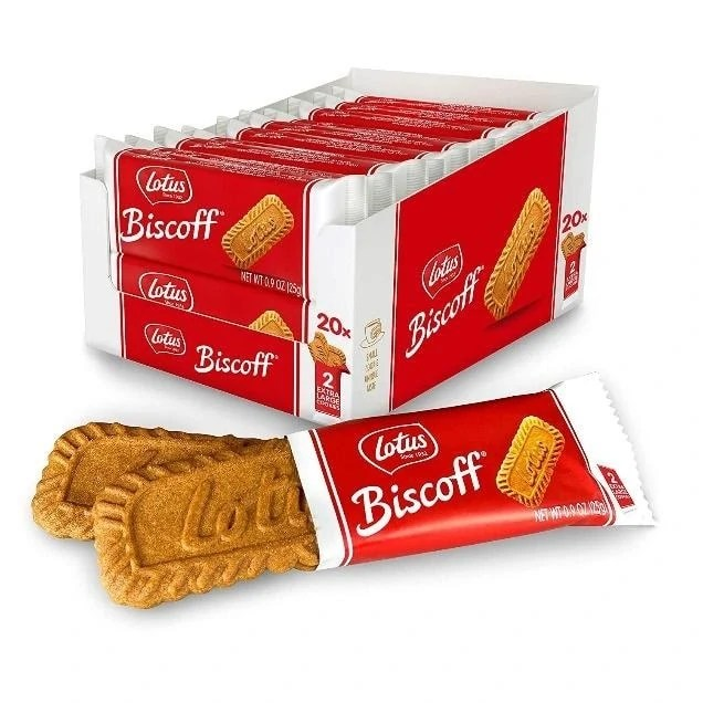 1 of 10 Non-Japanese Snacks: Lotus Biscoff Biscuits