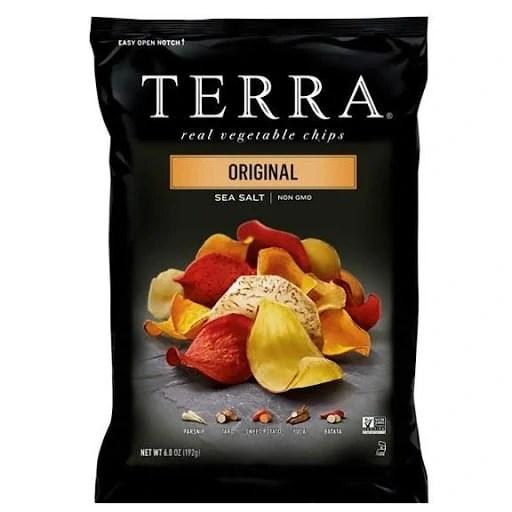 9 of 10 Non-Japanese Snacks: TERRA Original Chips with Sea Salt