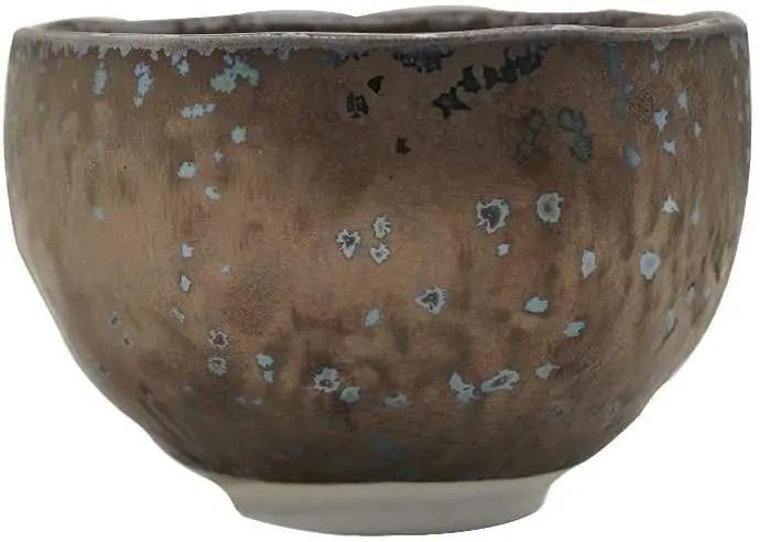 Minoyaki Porcelain Wabisabi Matcha Bowl