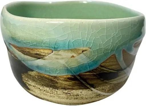 Maple Kitty Mino Pottery Matcha Bowl