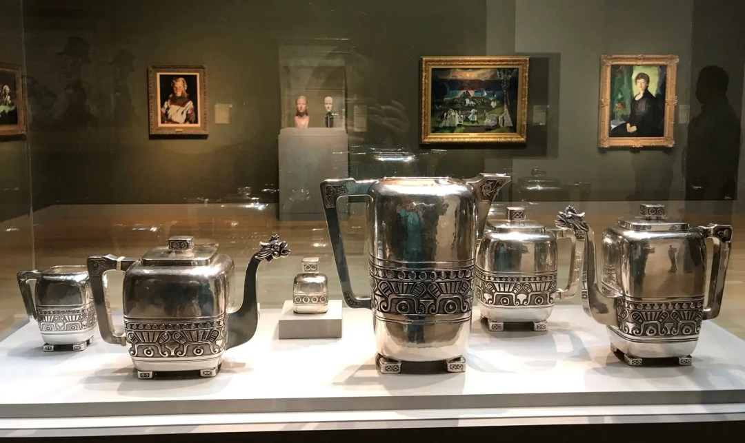 Friedell's Coffee, Tea, and Chocolate Service with Lemonade Pitcher at the Huntington