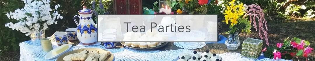 Tea Parties header
