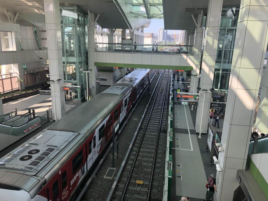 台中市捷運綠線 試營運