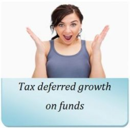 Need tax differed growth on both qualified and non-qualified funds