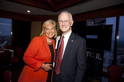 Texas Civil Justice League 2017 Annual Meeting | Lisa Kaufman | Texas Supreme Court Justice Phil Johnson