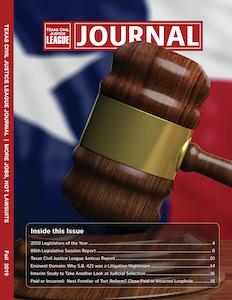 Fall 2017 Texas Civil Justice League Journal