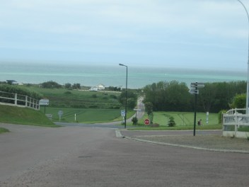 Driving to/from Arromanches