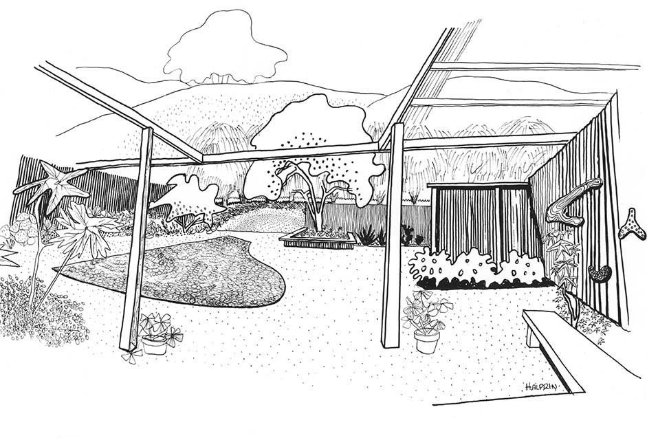The Landscape Architecture of Lawrence Halprin (The