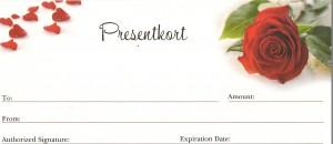 bild om presentkort