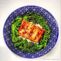 Maple Glazed Salmon: Warming the Metabolism