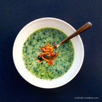 Kale Congee: Morning greens