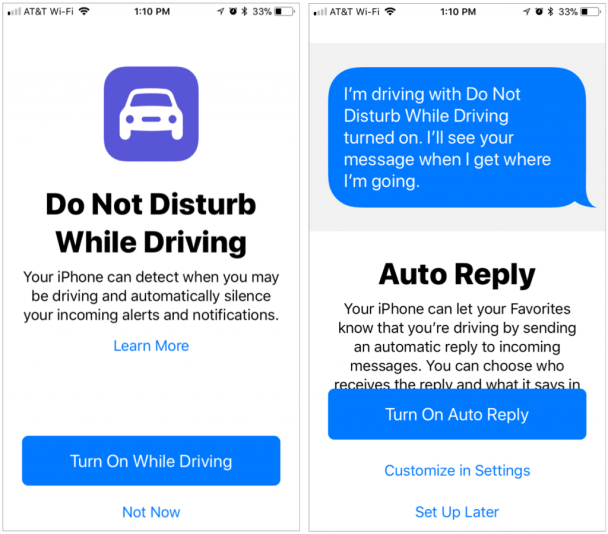 Please, Please, Use iOS 11's Do Not Disturb While Driving Feature