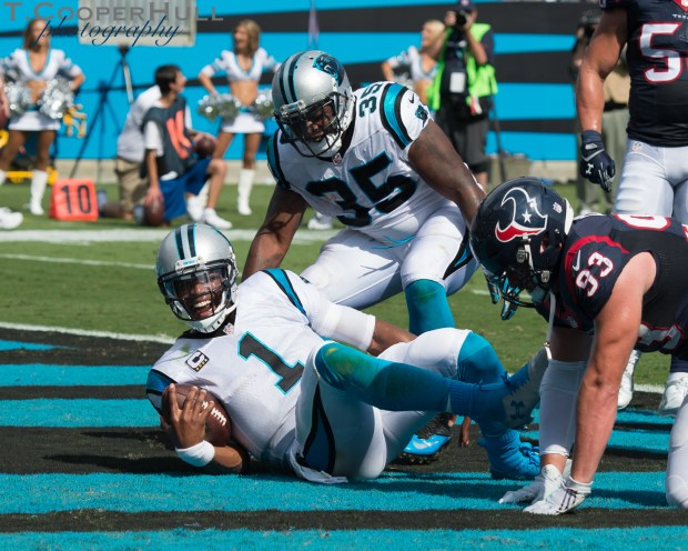 The Panthers open their homeowner against the Houston Texans and welcome home Rock Hill native Jadeveon Clowney. Panther's defense leader Luke Kuechly was out after his concussion he suffered from the season opener in Jacksonville.