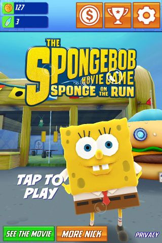 Nick Com Spongebob Movie : spongebob, movie, SpongeBob, Movie, Game:, Sponge, (iOS), Cutting, Floor