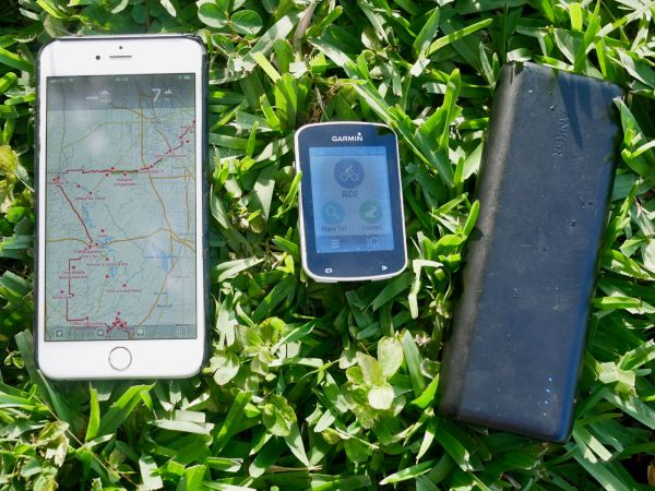 iPhone, Garmin, Anker