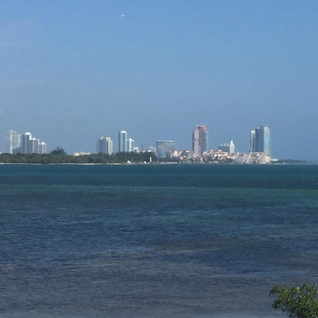 Miami Beach on my bike